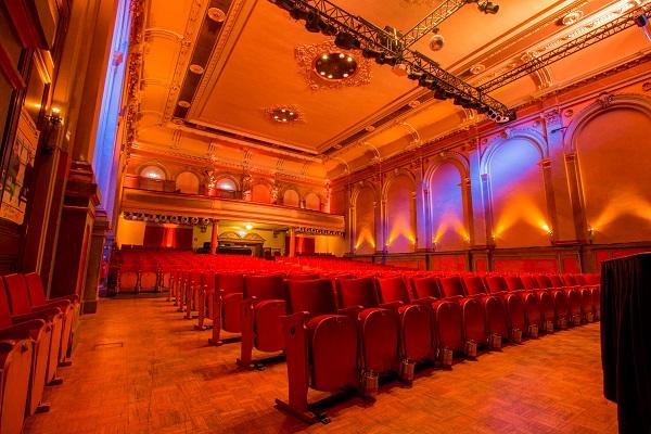Kabarettat Bühne Stadtsaal Wien